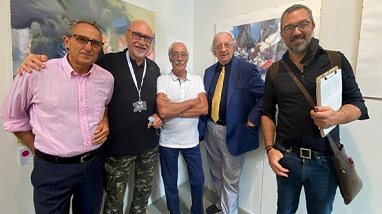 18.Vernice Sanat Fuarı/Euroexpoart'ta Türk sanatçılarının eserleri büyük ilgi gördü