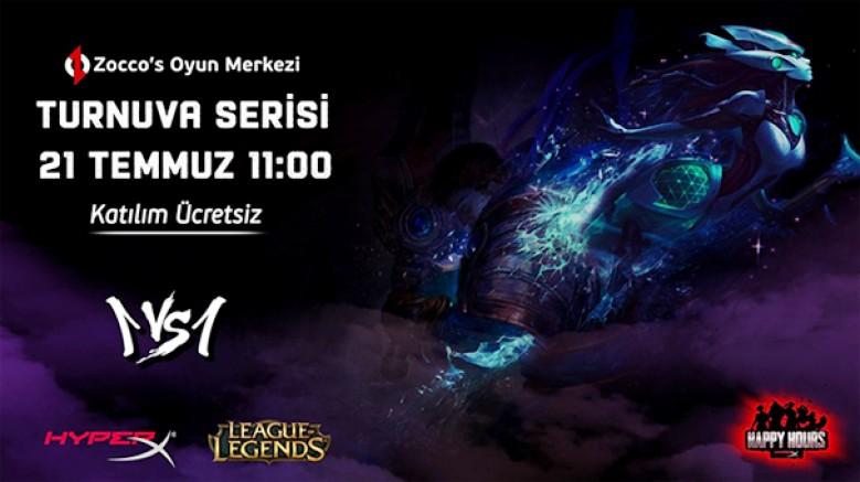 21 Temmuz 1vs1 League of Legends Turnuvası