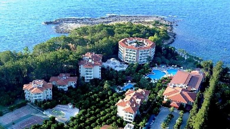 Alanya'da 5 yıldızlı Alara Park Otel icradan yarı fiyatına satışa çıktı