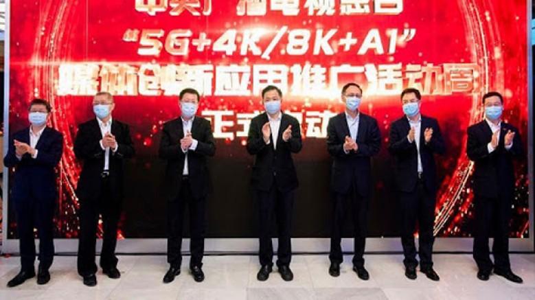 Çin'de, 5G+8K teknolojisinin kullanıldığı ilk yayın gerçekleştirildi