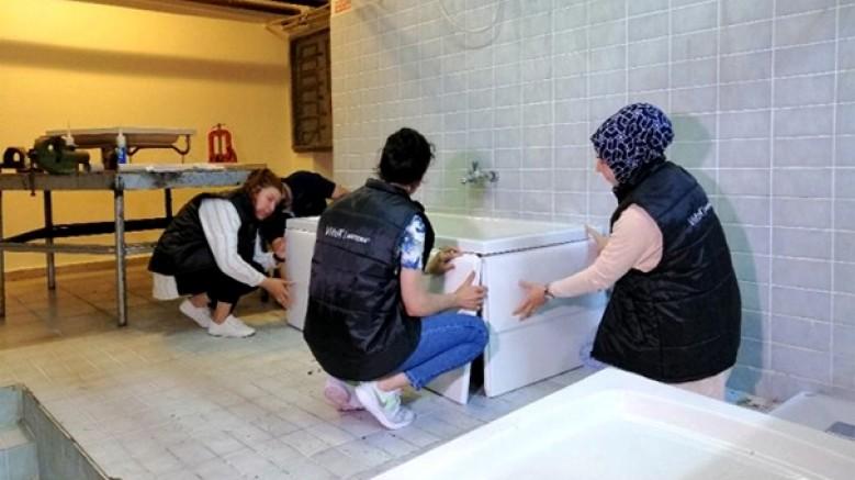 Eczacıbaşı Yapı Gereçleri çalışanları arıza ve montaj eğitimi verdi