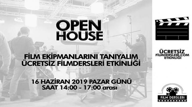 Filmdersleri.com OPEN HOUSE - Film Ekipmanlarını Tanıyalım; 16 Haziran