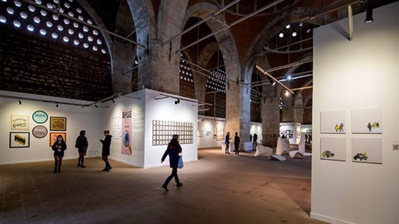 Genç sanatçı adaylarının 114 eserinin sergileneceği BASE 29 Eylül'de beşinci kez kapılarını açıyor