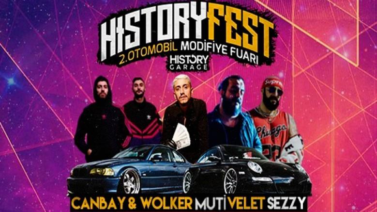 History Fest Otomobil Modifiye Fuarı; 30 Haziran