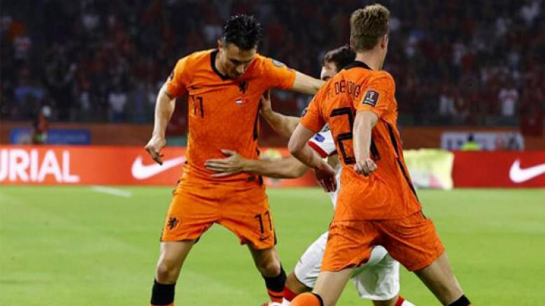 Hollanda: 6 - Türkiye: 1