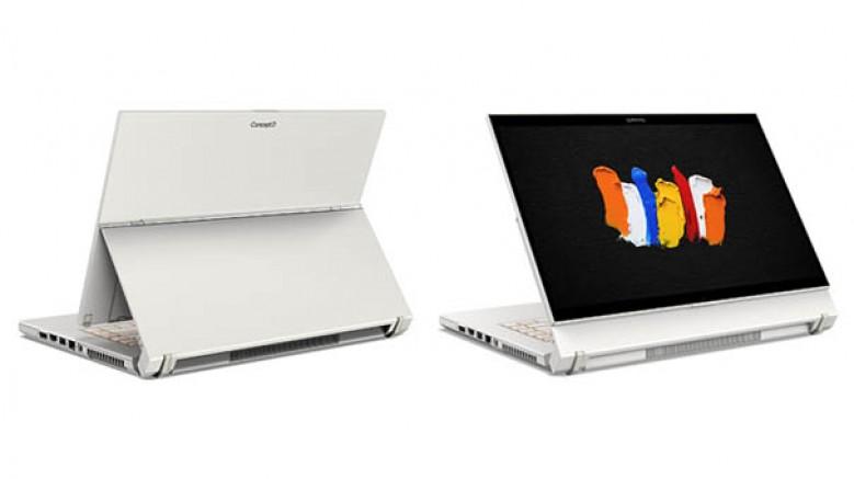 İçerik üreticilere yönelik ConceptD 7 Ezel Pro dönüştürülebilir dizüstü bilgisayarla, yaratıcı iş akışınızı geliştirin