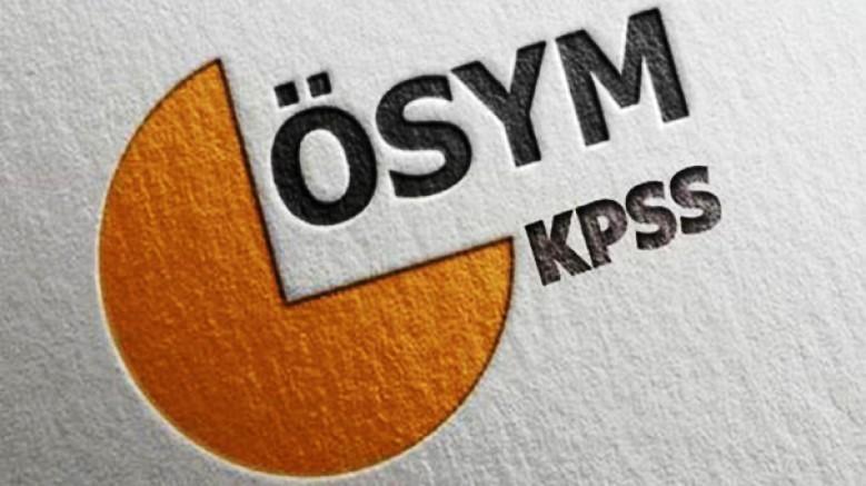 Kamu Personel Seçme Sınavı (KPSS) sonuçları açıkladı