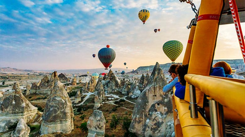Kapadokya'da balon uçuşları ile ilgili yeni düzenleme