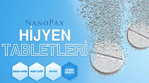 NanoPax'dan dezenfeksiyon konusunda pratik çözümler
