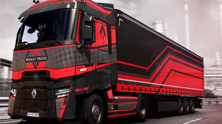 Renault Trucks, Euro Trucks Simulator 2 oyunundaki Uluslararası Tasarım Yarışması'nı bir Türk genci kazandı