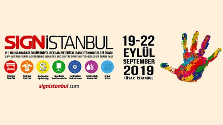 SIGN İstanbul 2019, 70 milyon dolarlık ticarete ev sahipliği yapacak