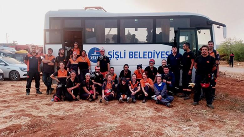Şişli Belediyesi, son dönemde Türkiye'nin yaşadığı tüm afetlerde vatandaşların yanında oldu