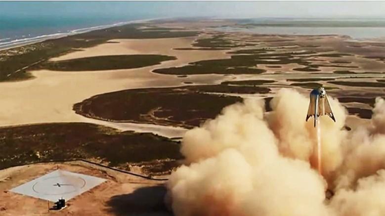 SpaceX'in 'Starhopper' adı verilen prototipinin en yüksek uçuşu gerçekleştirildi