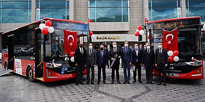 Karsan'dan Ankara Büyükşehir Belediyesi'ne 50 dizel Atak otobüs