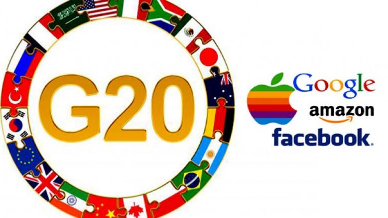 Teknoloji şirketleri için, küresel ortak vergi uygulaması getirilecek