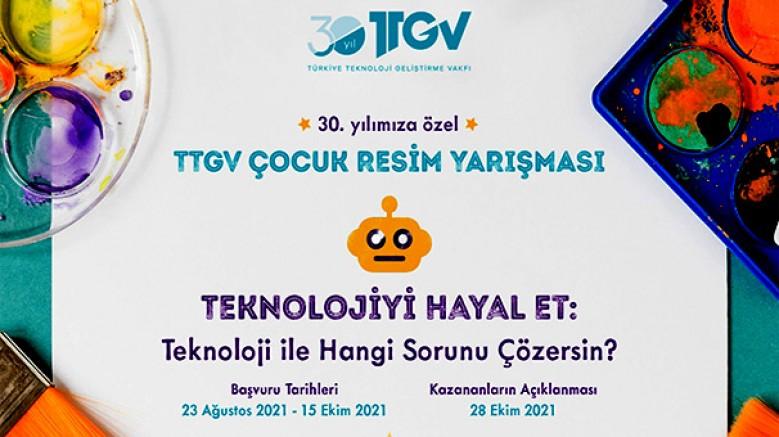 TTGV Çocuk Resim Yarışması için başvuruları bekliyoruz