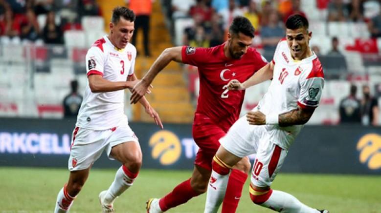 Türkiye: 2 - Karadağ: 2