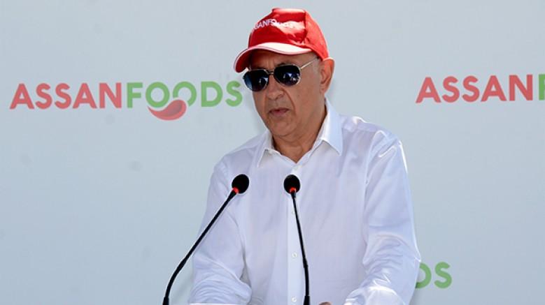 Türkiye'nin en büyük ketçap, mayonez ve sos üreticisi Assan Foods, yeni domates işleme sezonunu açtı