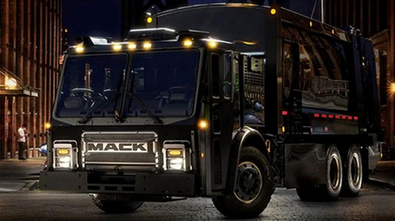 Volvo Trucks'ın alt markası Mack Truks, kendi elektrikli çöp kamyonunu çıkardı