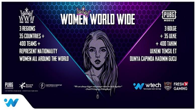 World Wide Women (WWW) PUBG Mobile Oyun Yarışması